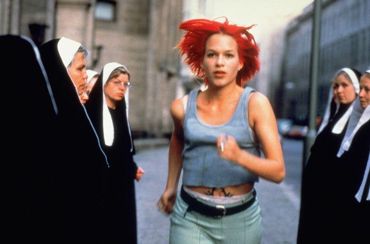 Franka Potente in 'Lola rennt'. Beeld ANP