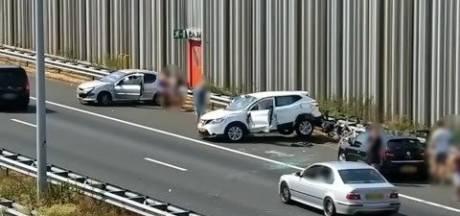 Ongeluk A2 bij knooppunt Batadorp, weg is weer vrij