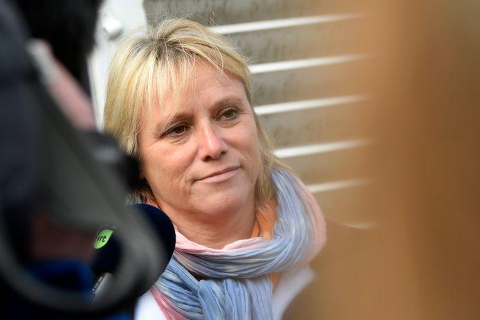 ABVV-topvrouw Miranda Ulens.