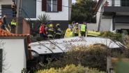 29 doden bij ongeval met toeristenbus op Madeira