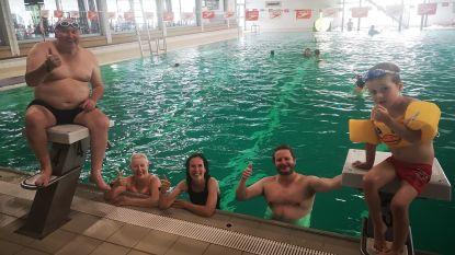 Rustige heropstart voor Izegemse zwembad