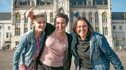 """Drie Wase vrouwen in 'Homo Universalis': """"Hopelijk wint één van ons!"""""""