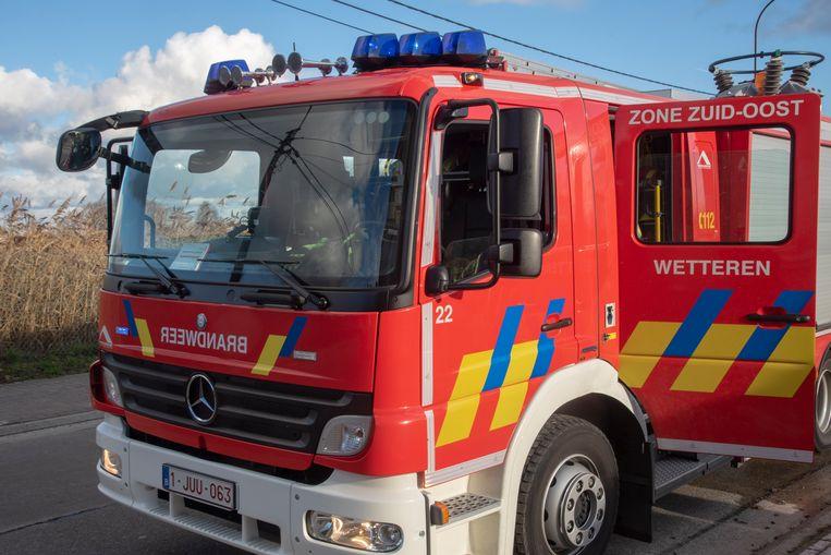 Illustratiebeeld : brandweer Wetteren