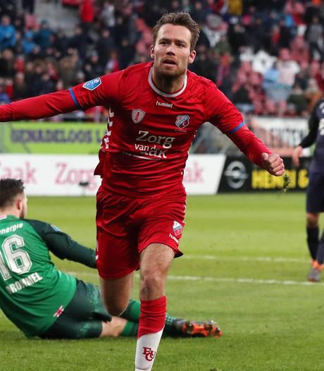 FC Utrecht naar vierde plek na winst op FC Twente