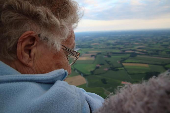 De 90-jarige oma Heemink uit Haaksbergen