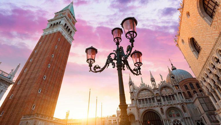 Het San Marco-plein in Venetië.