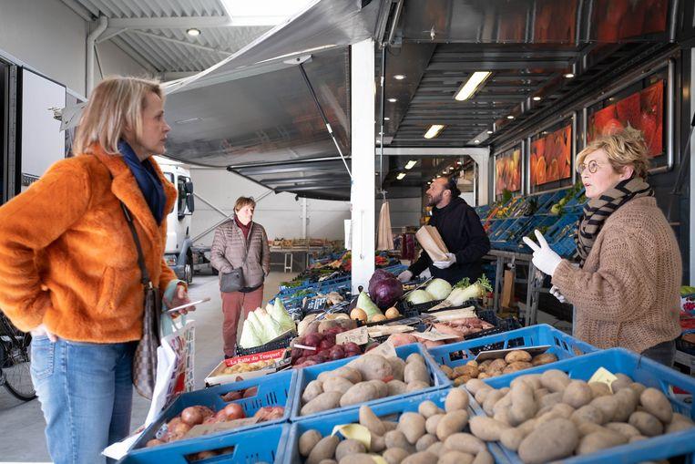 De markt in Nijlen.