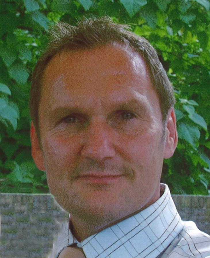 Rechercheur Frits Vrijenhoek (1957-2014).