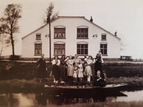 Oud-bewoonster haalt herinneringen op aan het leven in een spoorwoning in Demmerikse polder