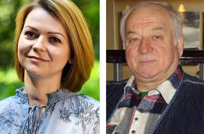 Joelia Skripal en haar vader Sergej werden vergifigd met zenuwgas.