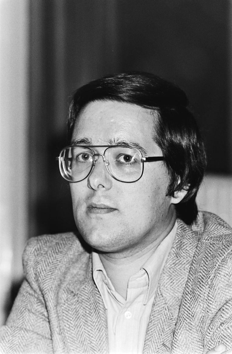 Piet Jonker in 1980.  Beeld Stadsarchief / Anefo