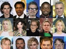 Deze genomineerden gaan Oscars in de wacht slepen