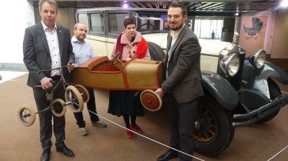 Zeldzame Minerva-auto is pronkstuk van mudel-tentoonstelling 'Design op wielen'
