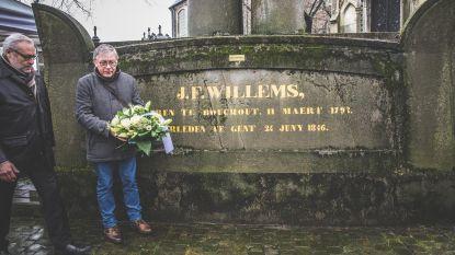 Grafmonument schrijver Jan Frans Willems is gered