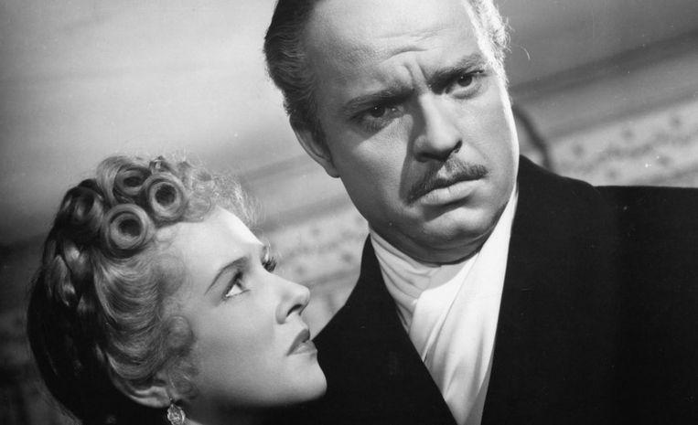 Dorothy Comingore en Orson Welles in Citizen Kane (Orson Welles, 1941). Beeld