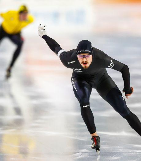 Thomas Geerdinck uit Hengelo schaatste NK: 'De koning van de training, maar niet in de wedstrijd'