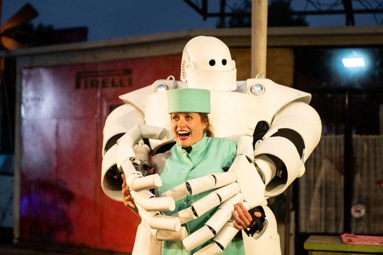 Uit 'Robot' van theatergezelschap Vis à vis.  Beeld  Anna van Kooij