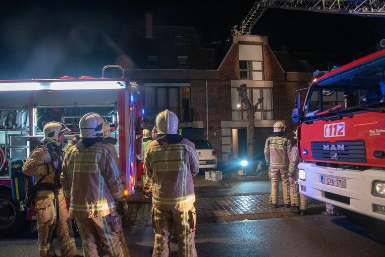 Schouwbrand Charlottelaan Wetteren.