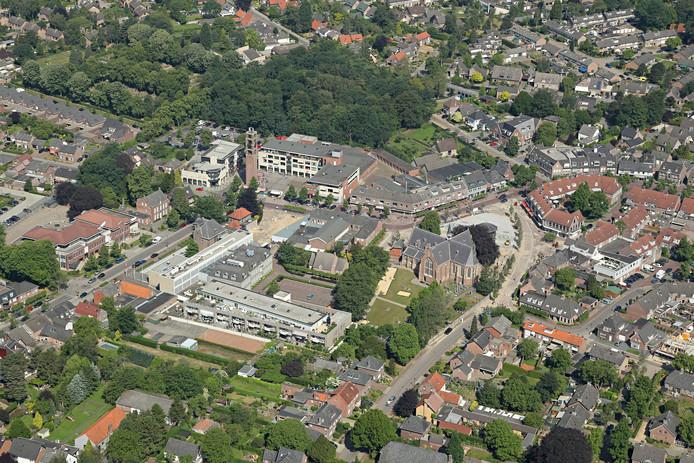 Het centrum van Bergeijk.