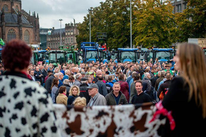 Op 14 oktober 2019 trokken de Gelderse boeren ook naar het provinciehuis.