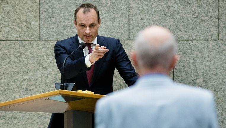 Het gewonnen gas moet voortaan in Nederland blijven, zegt PvdA-Kamerlid Jan Vos Beeld anp