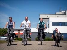 Medewerkers Panalytical in Almelo fietsen in half jaar 12.588 kilometer