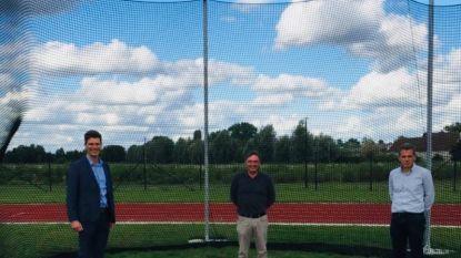 Atletiek De Pinte breidt uit met nieuwe discusring