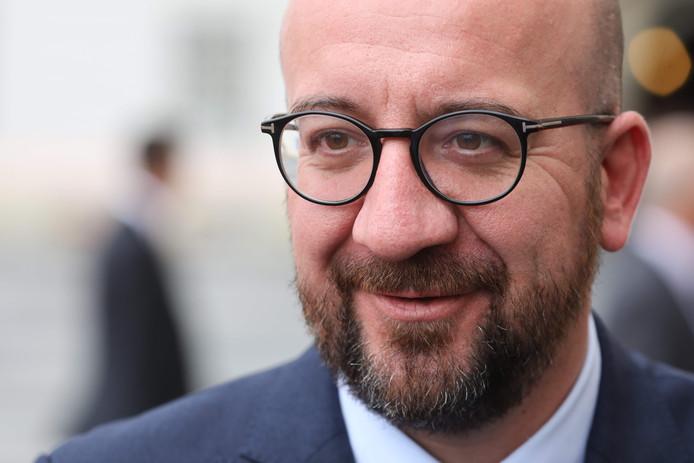 Charles Michel, président du MR.