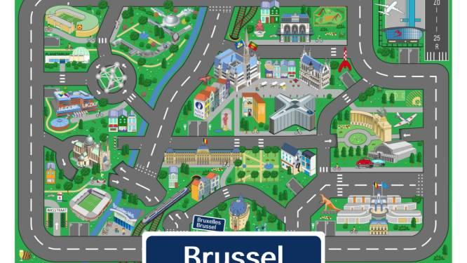 Brussel krijgt eigen speelmat