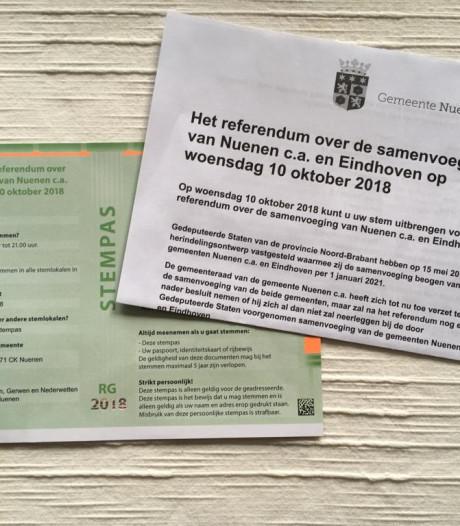Stempassen bezorgd voor referendum in Nuenen