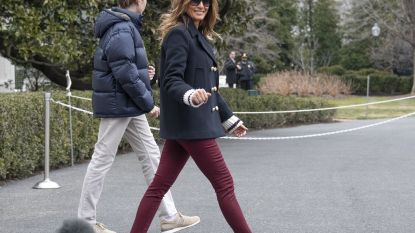 VIDEO. Gebruikt Melania Trump een 'body double'? Geruchtenmolen draait op volle toeren