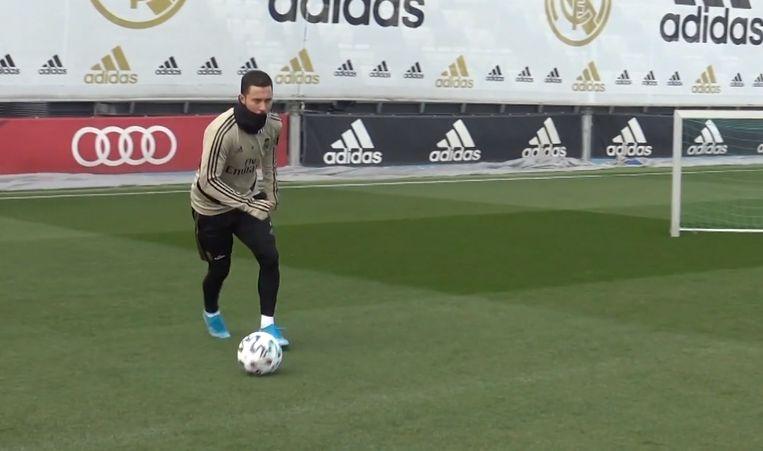 Eden Hazard traint apart