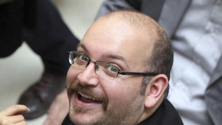 Jason Rezaian vorig jaar tijdens een bijeenkomst in Iran. Beeld ap