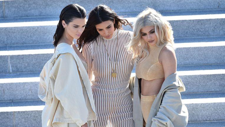 Kendall, Kim en Kylie.