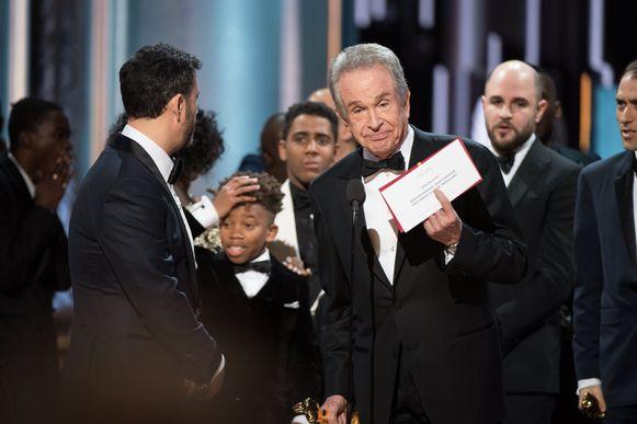 Op de Oscaruitreiking van 2017 werd per ongeluk een verkeerde winnaar afgeroepen.
