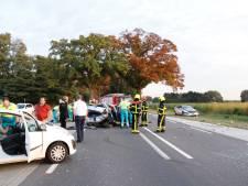 Onderzoek naar ongevallen op N271 Heijen na zware aanrijding