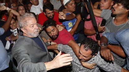 Braziliaanse oud-president Lula geeft zich dan toch aan