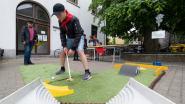Leerlingen TSM bouwen minigolfpark voor op de speelplaats