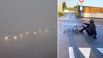 KMI waarschuwt in bijna heel het land voor combinatie van gladheid en mist