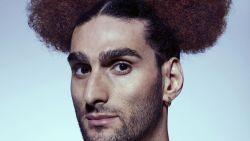 Het is bewezen: voetballer Fellaini kan elke haarstijl aan