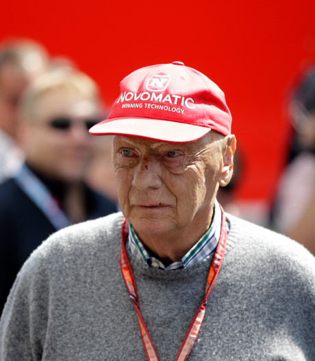 Zieke Niki Lauda korte tijd op intensive care