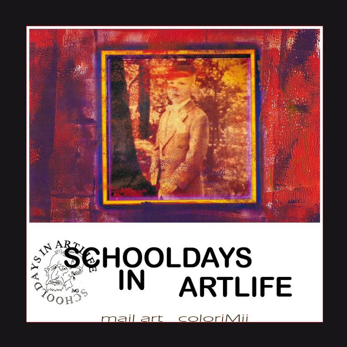 De expositie Schooldays in Artlife is te zien in het Koning Willem II College in Tilburg.