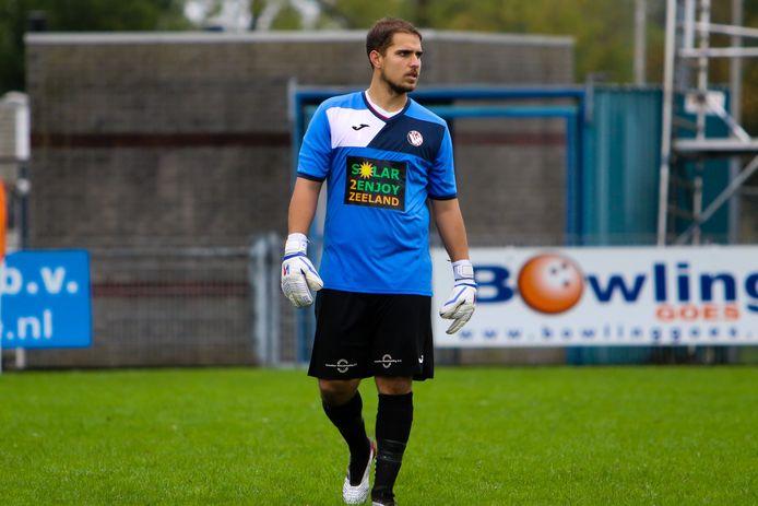 Matthew Lentink kan waarschijnlijk pas in december weer in actie komen voor VC Vlissingen.