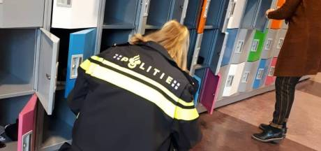 Politie vindt mes bij kluisjescontrole op middelbare school in Leerdam