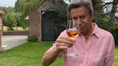 """Willy Sommers wenst iedereen een zonnige zomer: """"Santé!"""""""