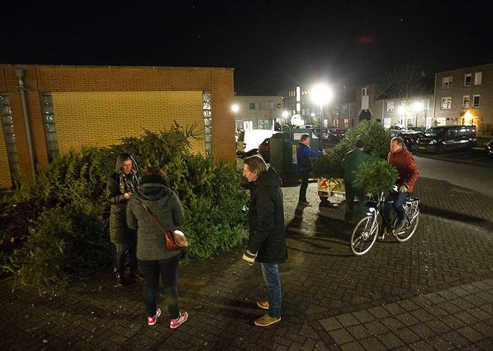 Kerstbomen inleveren in Geldrop