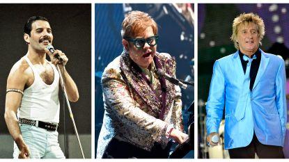 Freddie Mercury, Elton John en Rod Steward wilden ooit een supergroep oprichten, genaamd Nose, Teeth & Hair