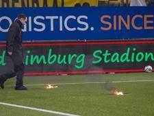 Twente-supporters tijdens de wedstrijd aangehouden, hoogte van schade nog onbekend