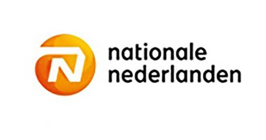 Het nieuwe logo van Nationale Nederlanden.