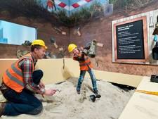 Archeoloogje spelen in het Noordbrabants Museum